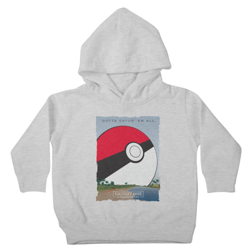 Caught One  |  A Trainer's Story Kids Toddler Pullover Hoody by Kirby Mack's Artist Shop
