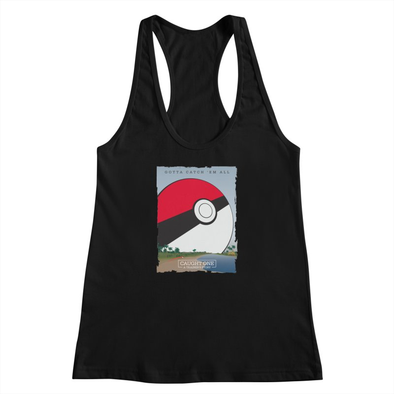 Caught One  |  A Trainer's Story Women's Racerback Tank by kirbymack's Artist Shop