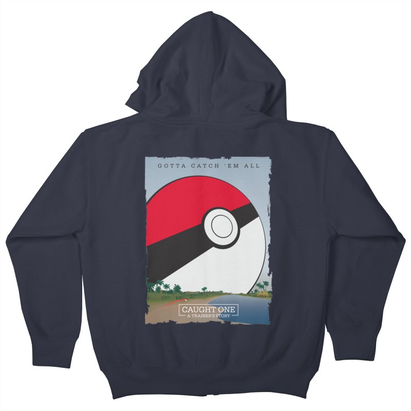 Caught One  |  A Trainer's Story Kids Zip-Up Hoody by kirbymack's Artist Shop