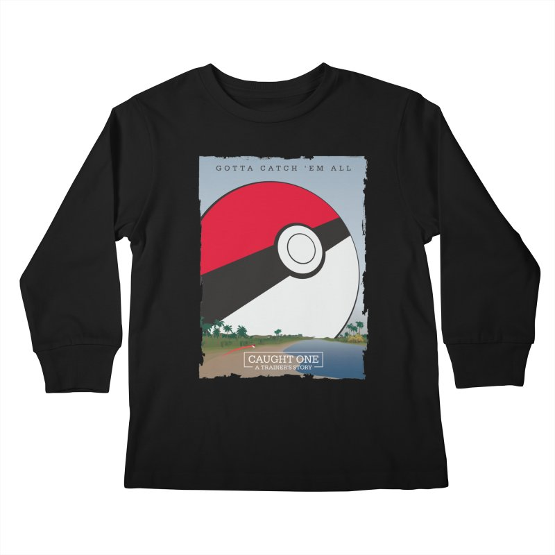 Caught One  |  A Trainer's Story Kids Longsleeve T-Shirt by Kirby Mack's Artist Shop