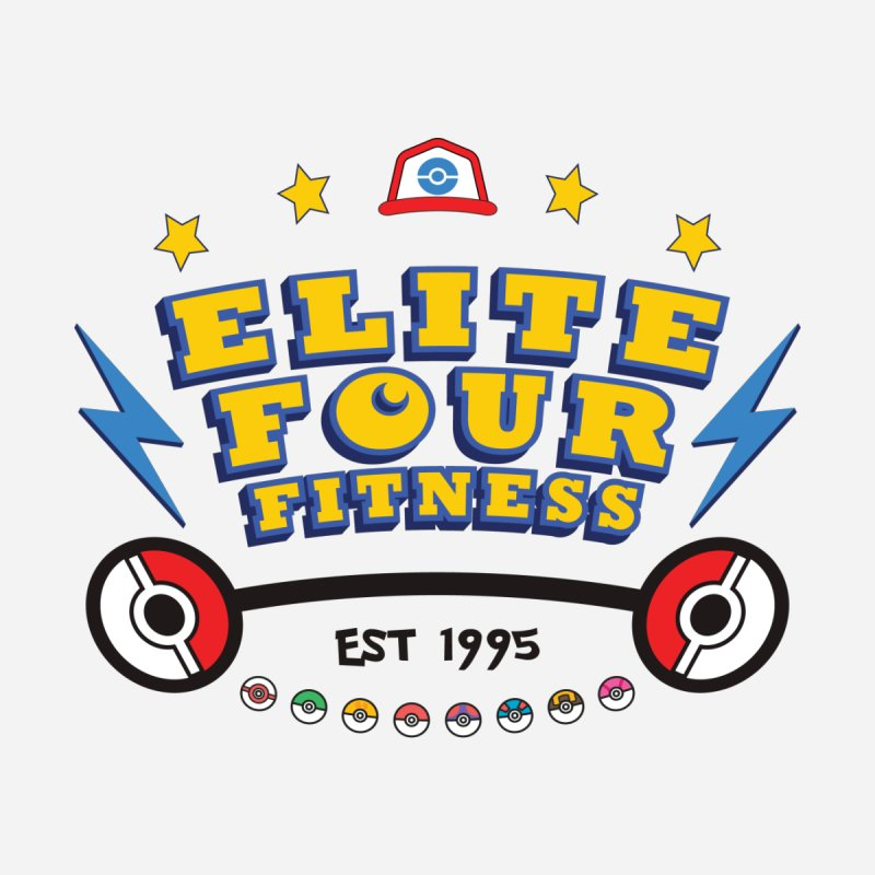 Elite Four Fitness - A Poke Gym by kirbymack's Artist Shop