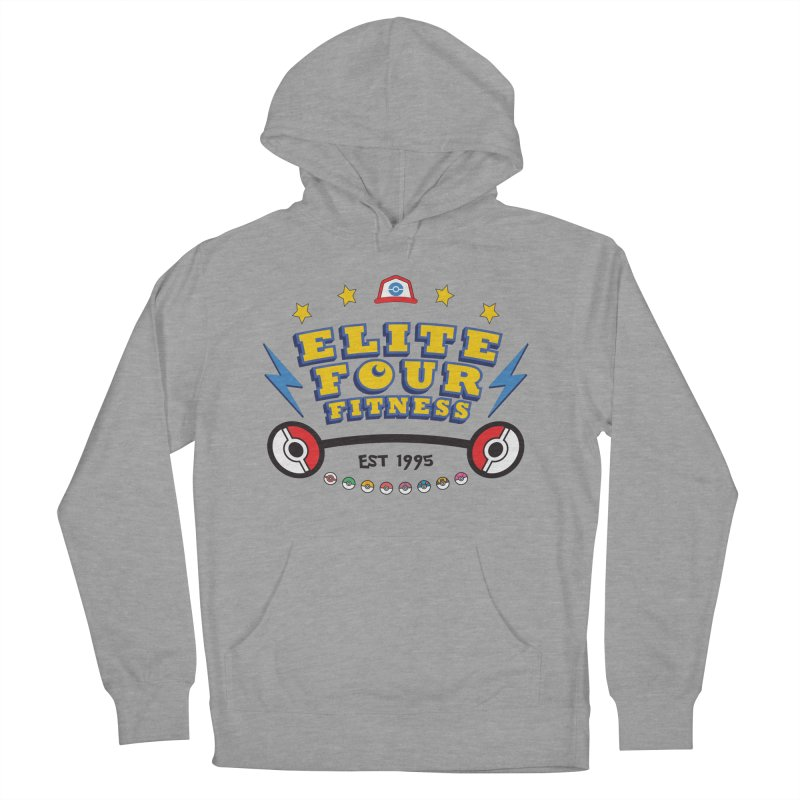 Elite Four Fitness - A Poke Gym Women's Pullover Hoody by kirbymack's Artist Shop