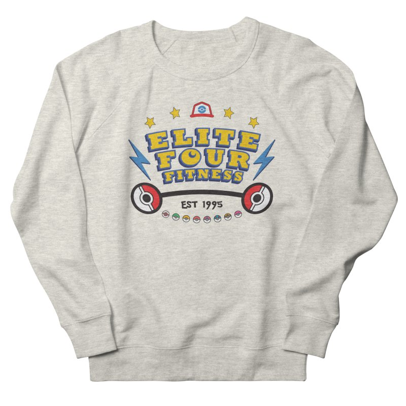 Elite Four Fitness - A Poke Gym Men's Sweatshirt by kirbymack's Artist Shop