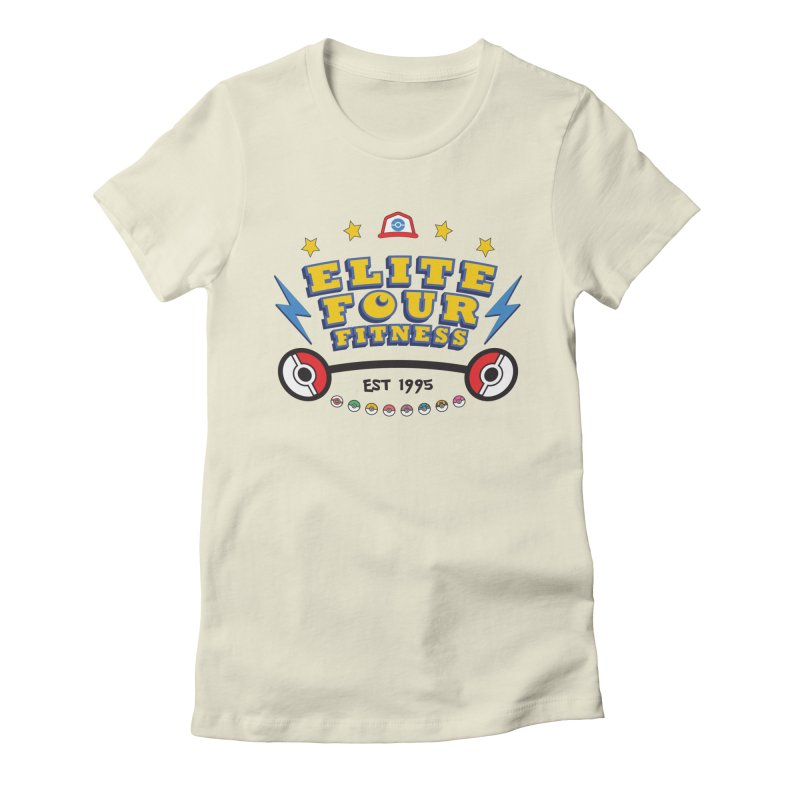 Elite Four Fitness - A Poke Gym Women's Fitted T-Shirt by kirbymack's Artist Shop