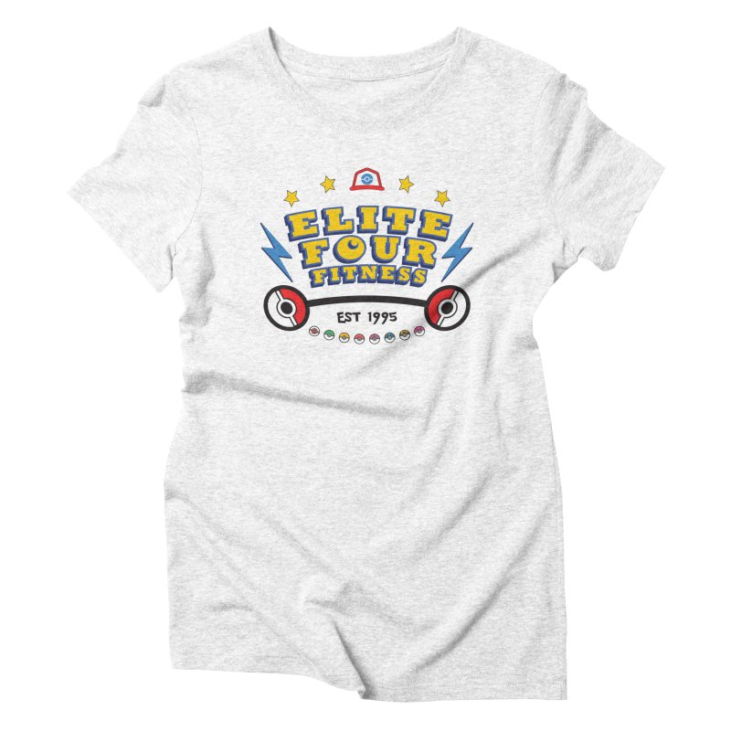 Elite Four Fitness - A Poke Gym Women's Triblend T-shirt by kirbymack's Artist Shop