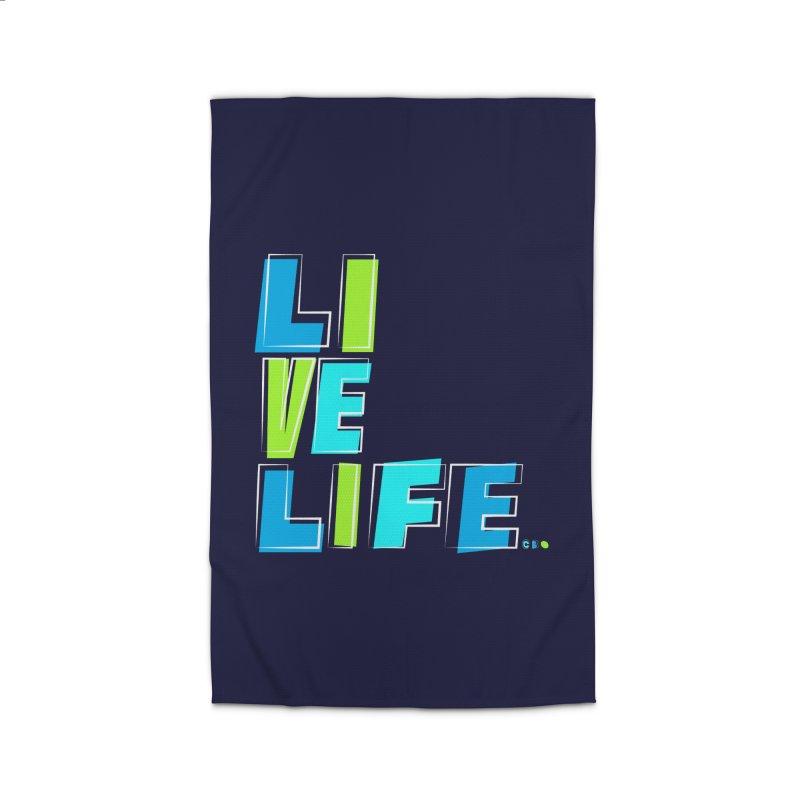 LIVE LIFE... Home Rug by kirbymack's Artist Shop