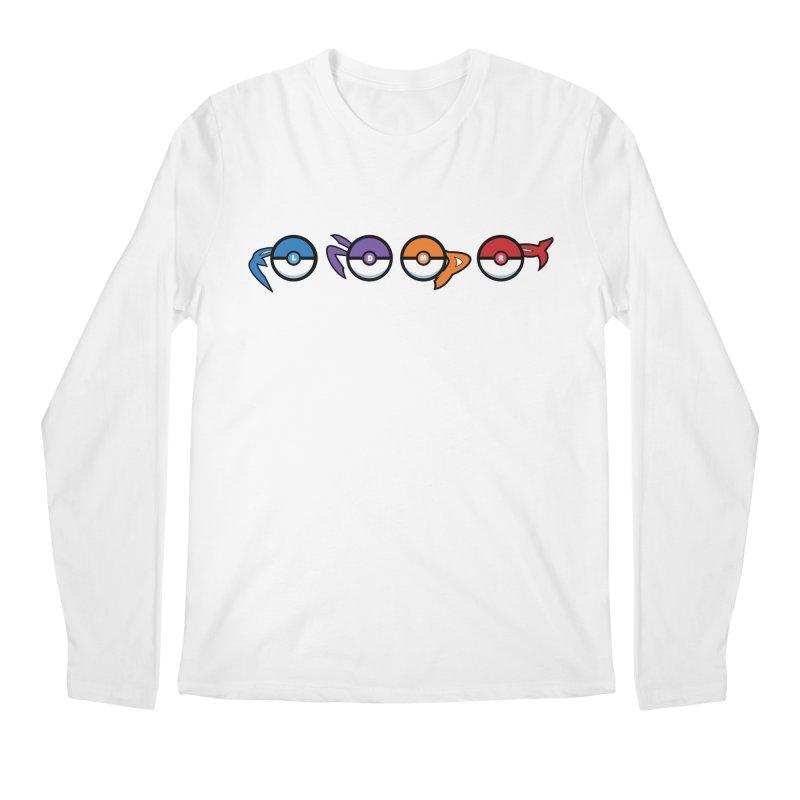 Catch 'Em All Dude! Men's Longsleeve T-Shirt by kirbymack's Artist Shop