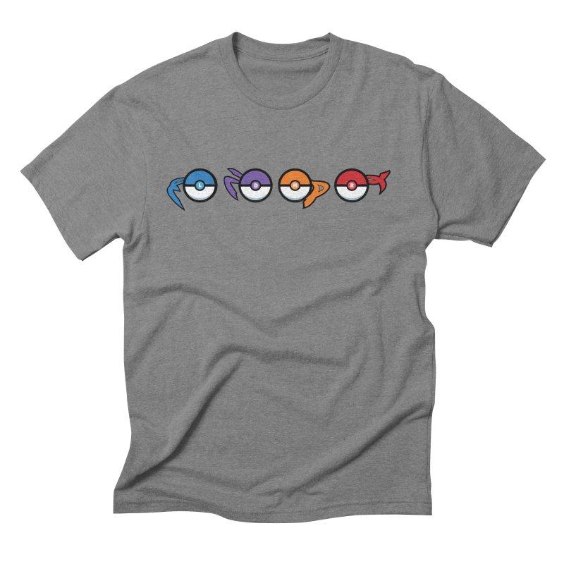 Catch 'Em All Dude! Men's Triblend T-shirt by kirbymack's Artist Shop