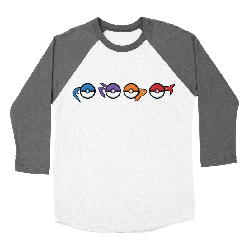 Catch 'Em All Dude! Men's Baseball Triblend T-Shirt by kirbymack's Artist Shop