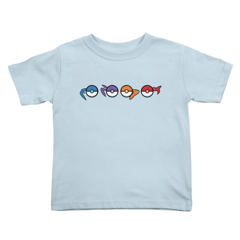 Catch 'Em All Dude! Kids Toddler T-Shirt by kirbymack's Artist Shop