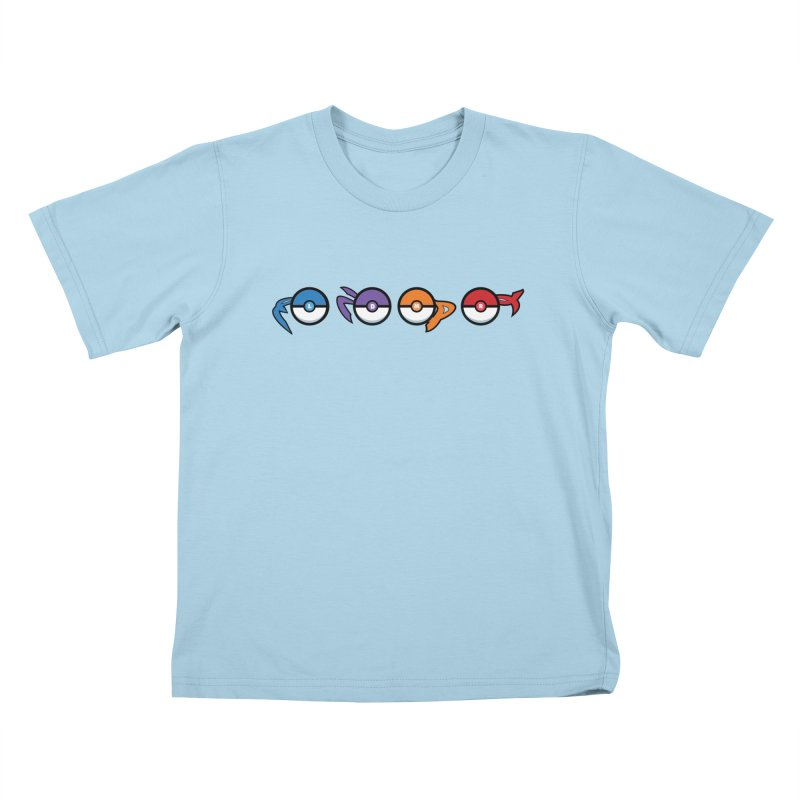 Catch 'Em All Dude! Kids T-Shirt by kirbymack's Artist Shop