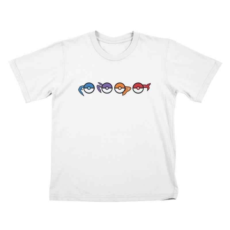 Catch 'Em All Dude! Kids T-Shirt by kirbymack's Artist Shop