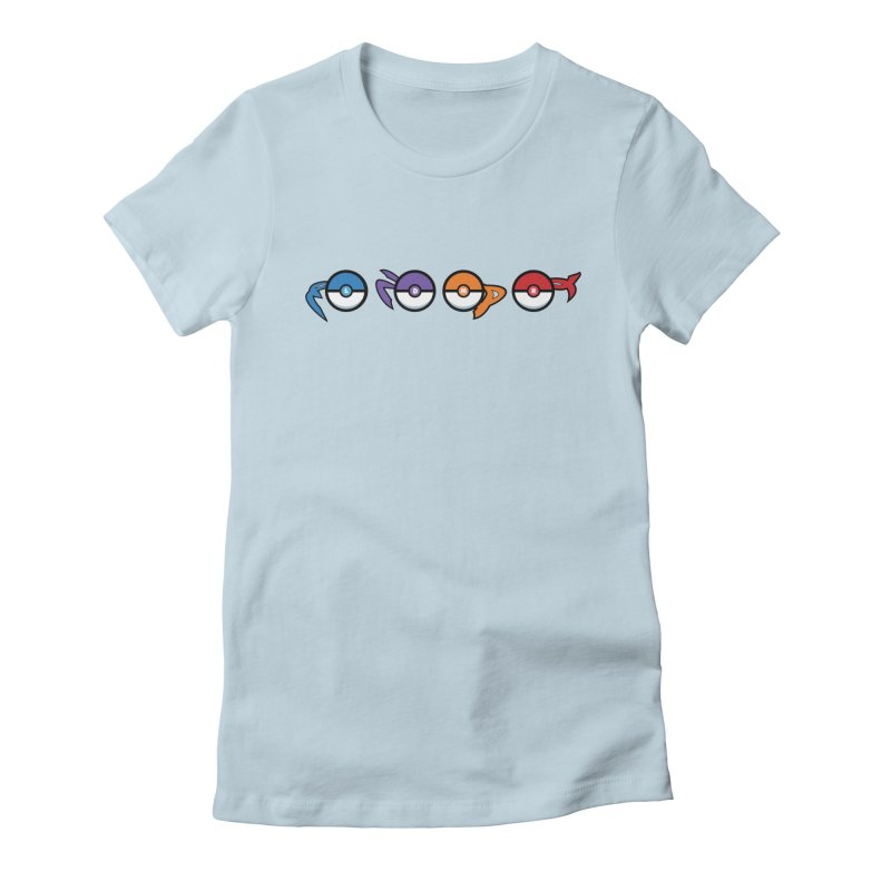 Catch 'Em All Dude! Women's Fitted T-Shirt by kirbymack's Artist Shop