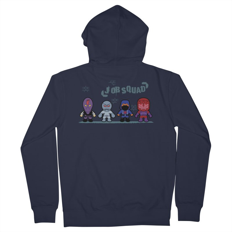 Job Squad Men's Zip-Up Hoody by kirbymack's Artist Shop