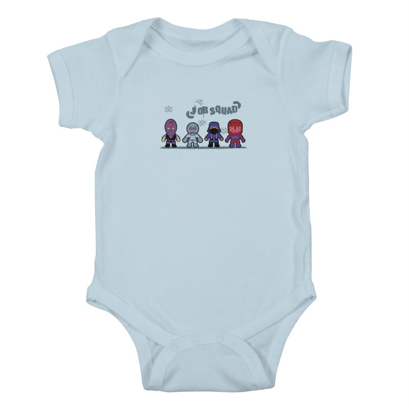 Job Squad Kids Baby Bodysuit by kirbymack's Artist Shop