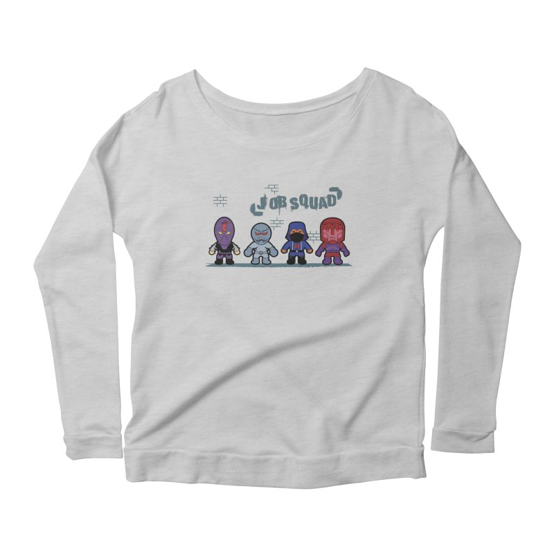 Job Squad Women's Scoop Neck Longsleeve T-Shirt by kirbymack's Artist Shop