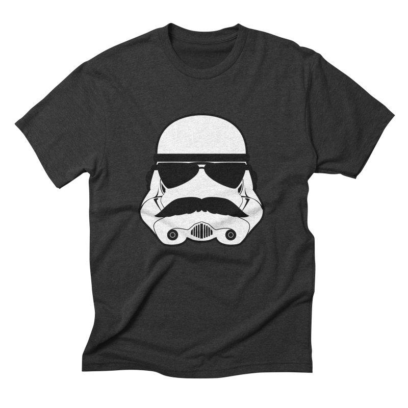 Super Trooper Men's Triblend T-shirt by kirbymack's Artist Shop