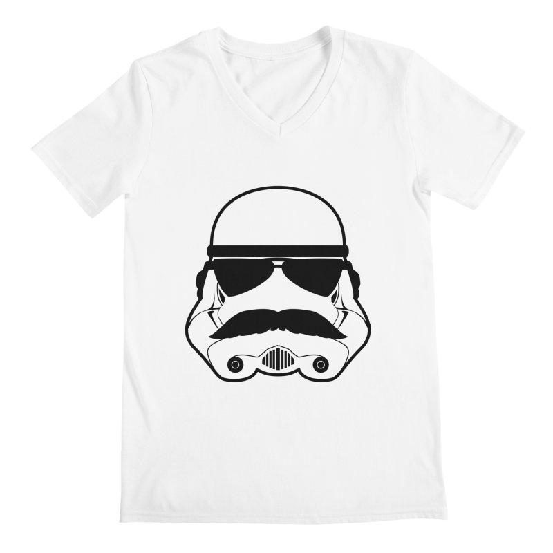 Super Trooper Men's V-Neck by kirbymack's Artist Shop