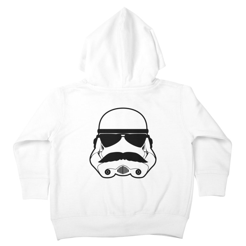 Super Trooper Kids Toddler Zip-Up Hoody by kirbymack's Artist Shop