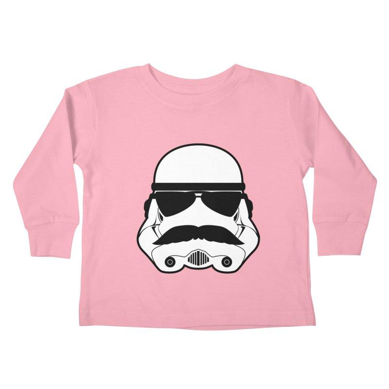 Super Trooper Kids Toddler Longsleeve T-Shirt by kirbymack's Artist Shop