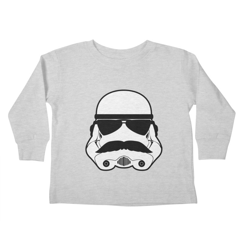 Super Trooper Kids Toddler Longsleeve T-Shirt by kirbymack's Artist Shop