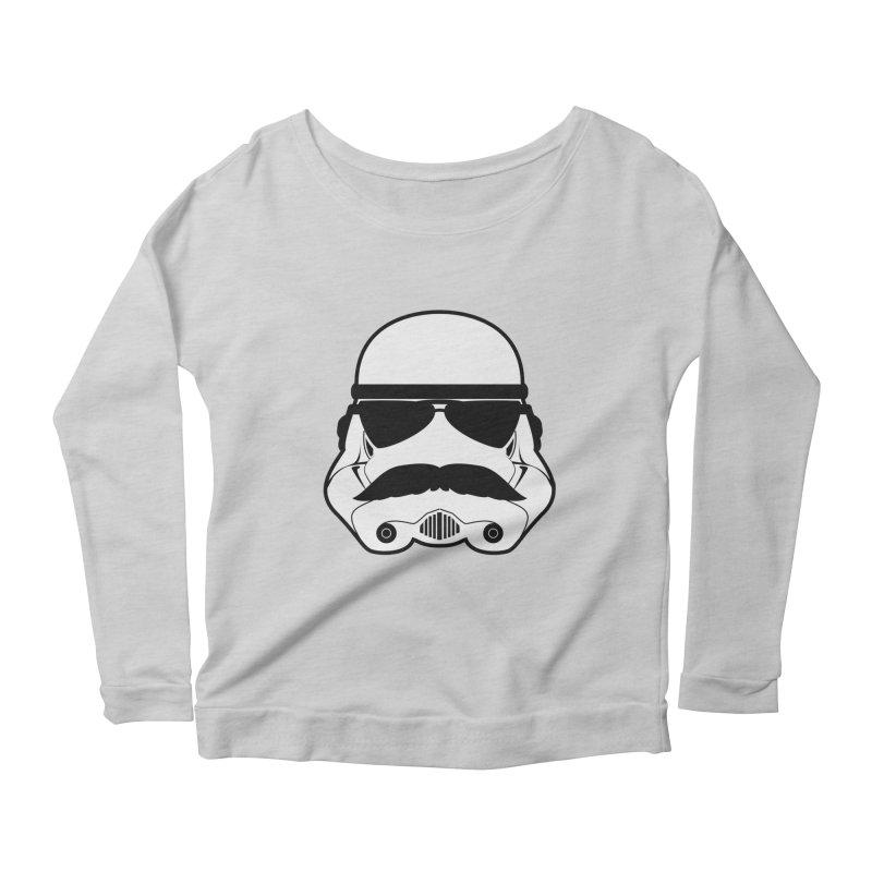 Super Trooper Women's Scoop Neck Longsleeve T-Shirt by kirbymack's Artist Shop