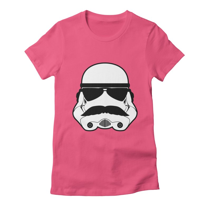 Super Trooper Women's Fitted T-Shirt by kirbymack's Artist Shop
