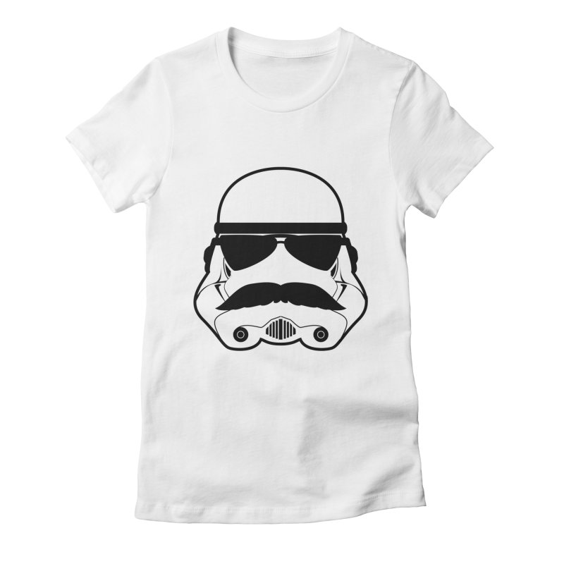 Super Trooper Women's Fitted T-Shirt by kirbymack's Artist Shop