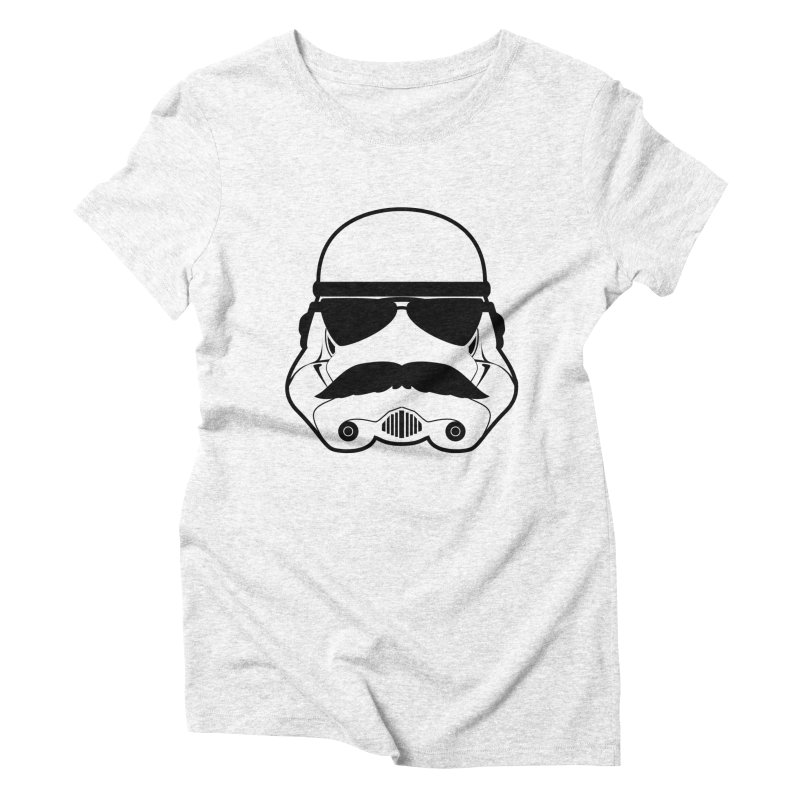 Super Trooper Women's Triblend T-shirt by kirbymack's Artist Shop