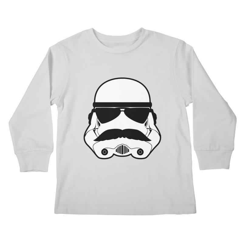 Super Trooper Kids Longsleeve T-Shirt by Kirby Mack's Artist Shop