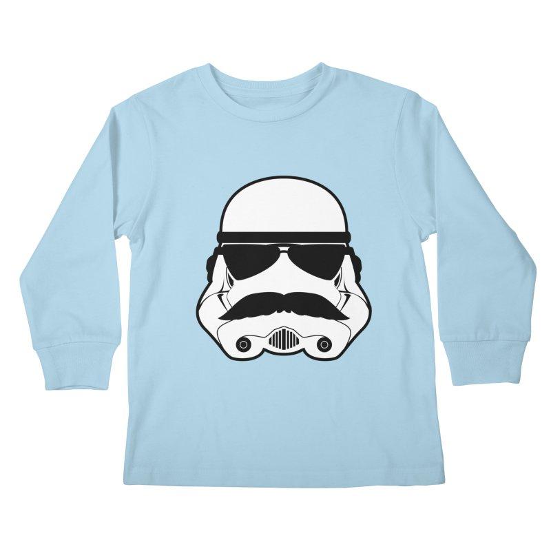 Super Trooper Kids Longsleeve T-Shirt by kirbymack's Artist Shop