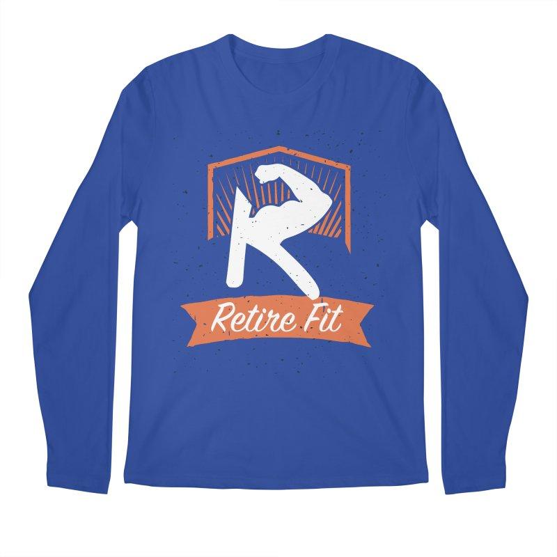 Retire Fit Men's Regular Longsleeve T-Shirt by kirbymack's Artist Shop