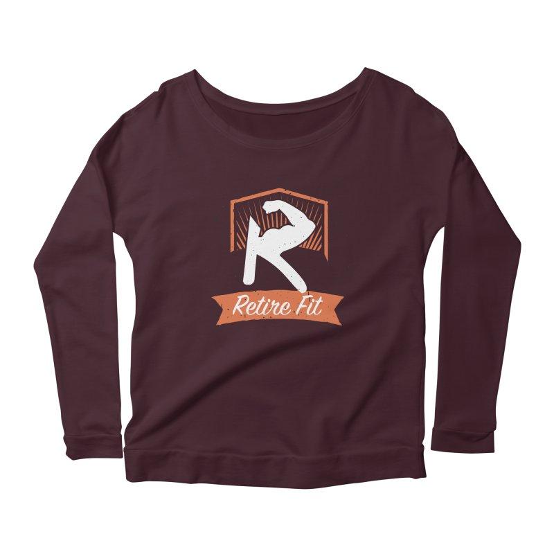 Retire Fit Women's Scoop Neck Longsleeve T-Shirt by kirbymack's Artist Shop