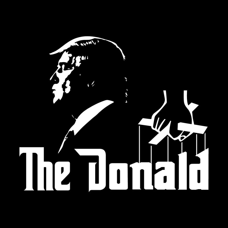 The Donald (Dark Colors) by kirbymack's Artist Shop