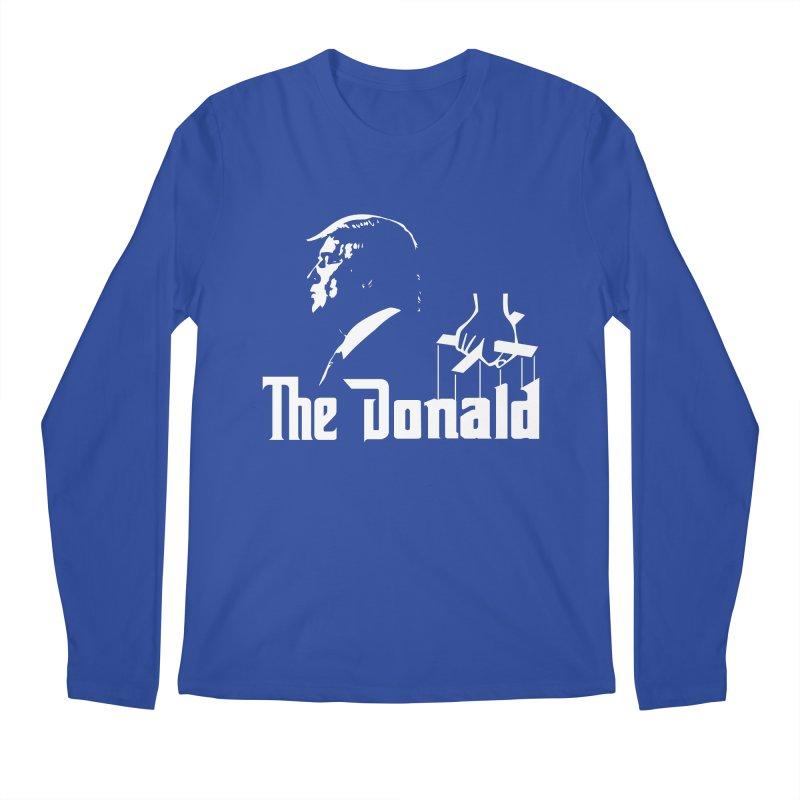 The Donald (Dark Colors) Men's Regular Longsleeve T-Shirt by kirbymack's Artist Shop