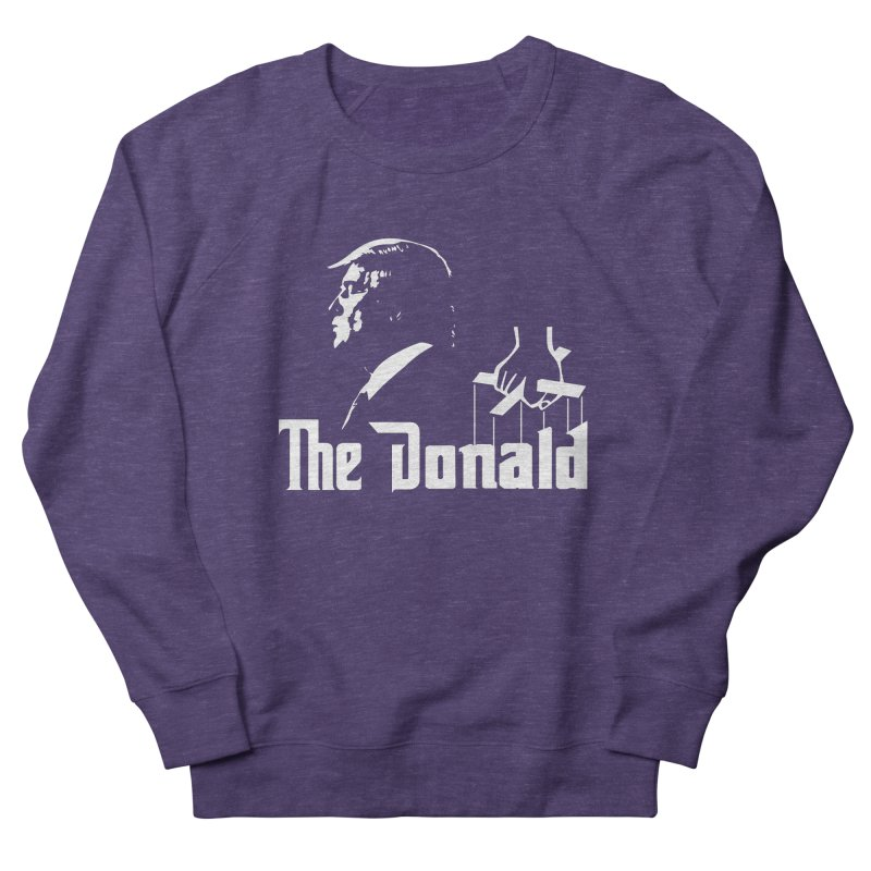 The Donald (Dark Colors) Women's French Terry Sweatshirt by Kirby Mack's Artist Shop