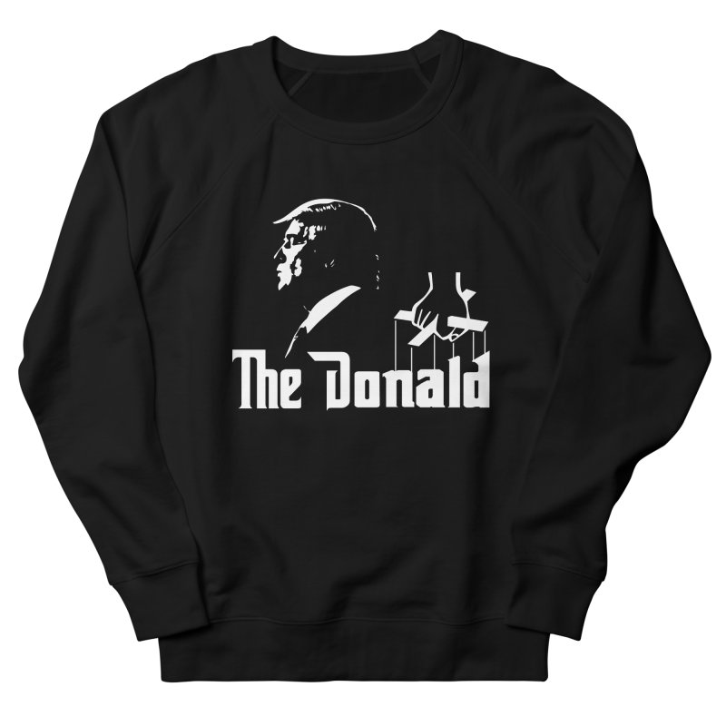 The Donald (Dark Colors) Men's French Terry Sweatshirt by kirbymack's Artist Shop
