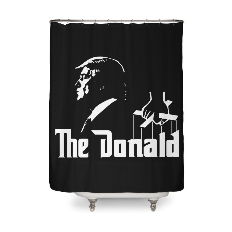 The Donald (Dark Colors) Home Shower Curtain by kirbymack's Artist Shop
