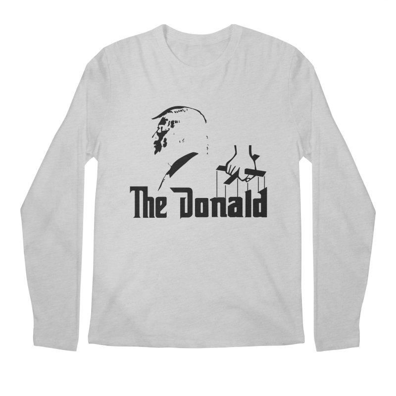 The Donald (Light Colors) Men's Regular Longsleeve T-Shirt by kirbymack's Artist Shop