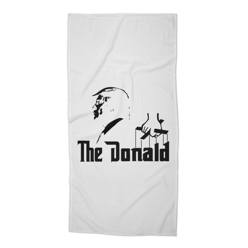 The Donald (Light Colors) Accessories Beach Towel by kirbymack's Artist Shop