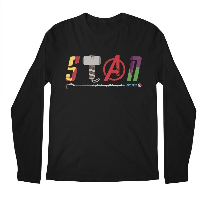 Stan Lee Men's Regular Longsleeve T-Shirt by kirbymack's Artist Shop