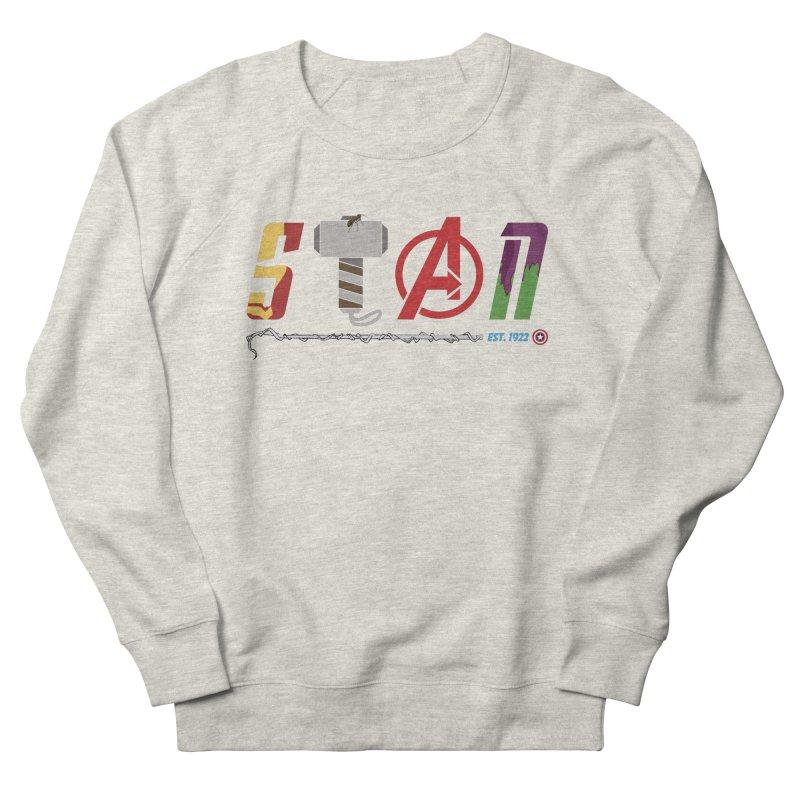 Stan Lee Women's French Terry Sweatshirt by kirbymack's Artist Shop