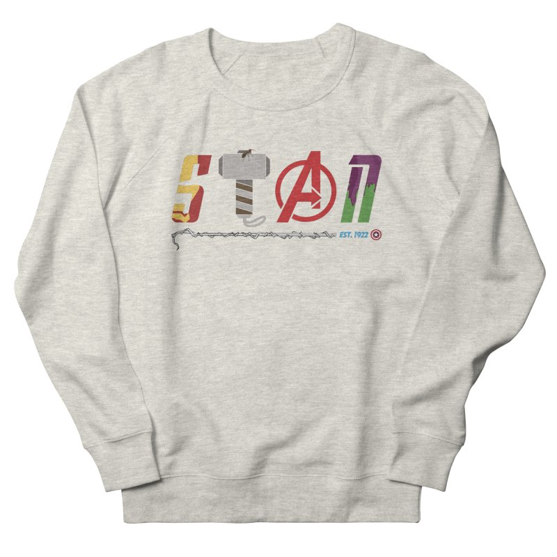 Stan Lee Men's French Terry Sweatshirt by kirbymack's Artist Shop