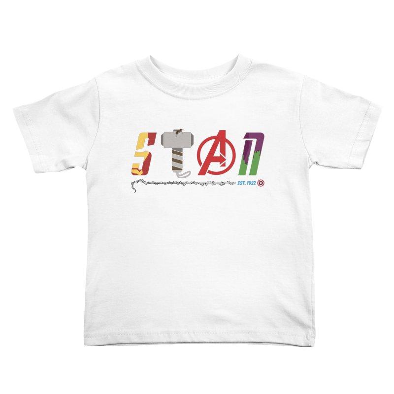 Stan Lee Kids Toddler T-Shirt by kirbymack's Artist Shop
