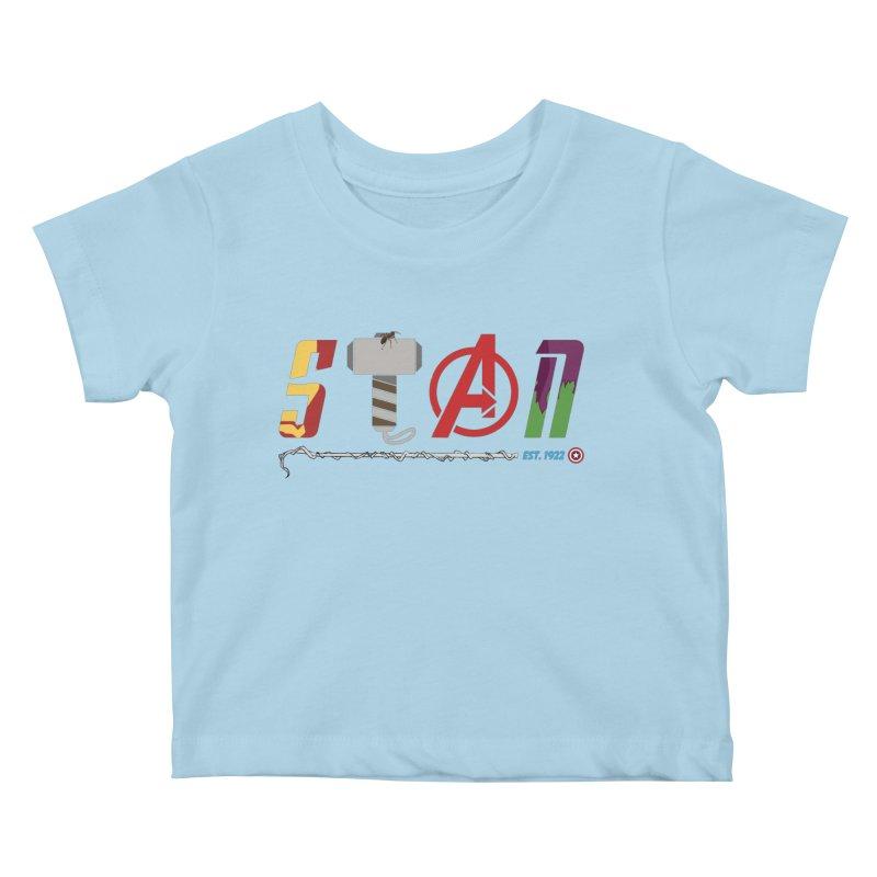 Stan Lee Kids Baby T-Shirt by kirbymack's Artist Shop
