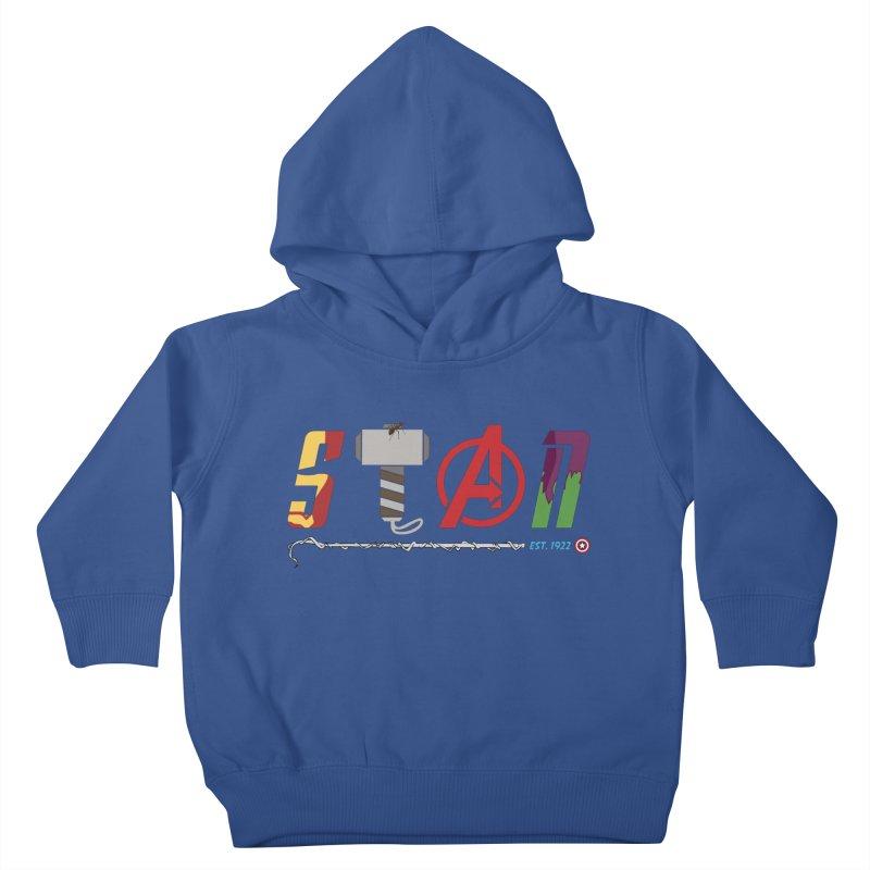 Stan Lee Kids Toddler Pullover Hoody by kirbymack's Artist Shop