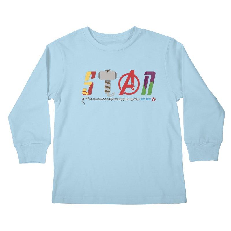 Stan Lee Kids Longsleeve T-Shirt by kirbymack's Artist Shop