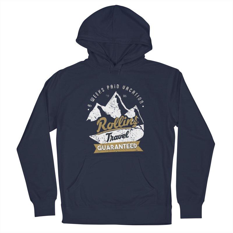 Rollins Travel Agency  Men's Pullover Hoody by kirbymack's Artist Shop