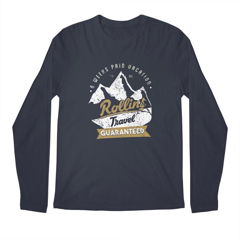 Rollins Travel Agency  Men's Longsleeve T-Shirt by kirbymack's Artist Shop