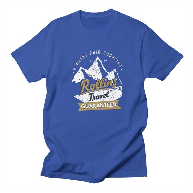 Rollins Travel Agency  Men's T-shirt by kirbymack's Artist Shop